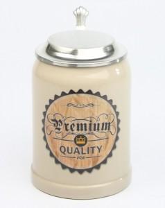 Vintage-Bierkrug-Premium-Crown-ZD-1