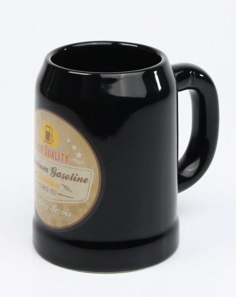Vintage-Bierkrug-Premium-Gasoline-black-3