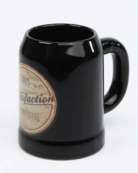 Vintage-Bierkrug-Satisfaction-black-2