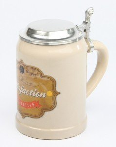 Vintage-Bierkrug-Satisfaction-guarateed-ZD-3