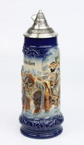 Brauereigespann 1,0l blau, Spitzdeckel_2