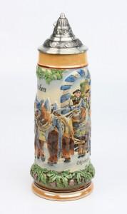 Brauereigespann 1,0l bunt, Spitzdeckel_2