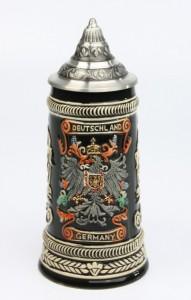 Deutschland Adler antik 0,5l, Spitzdeckel_2