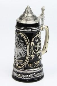 Old Germany Adler silber 0,25l, Spitzdeckel
