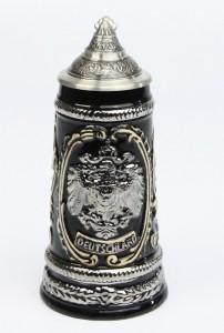 Old Germany Adler silber 0,25l, Spitzdeckel_2