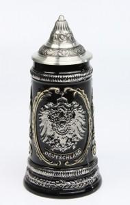 Old Germany Adler silber 0,5l, Spitzdeckel_2