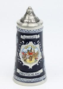 Deutschland Schild 0,125l kobalt, SB, Spitzdeckel_2