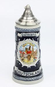 Deutschland Schild 0,5l kobalt, SB, Spitzdeckel_2