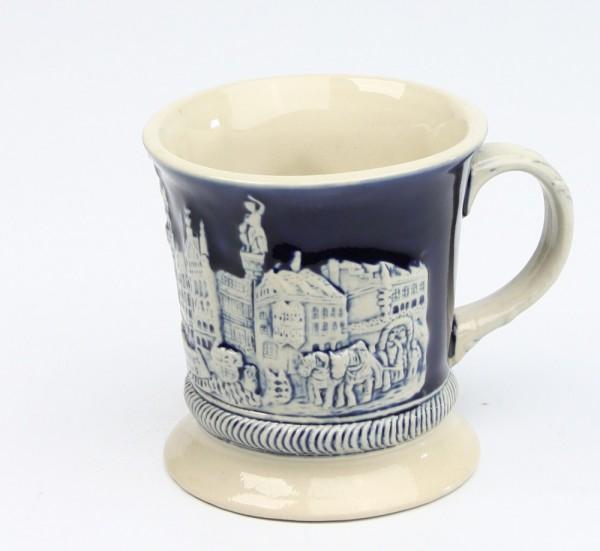 Kaffehaferl München neu kobalt