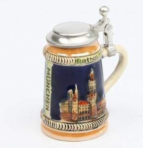 München Mini bunt, Flachdeckel