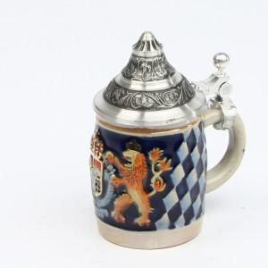 Souvenir Bayern klein bunt, Spitzdeckel