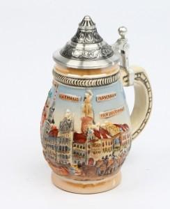 Souvenir München groß bunt, Spitzdeckel