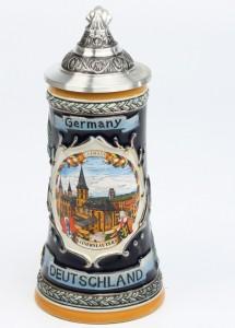 Deutschland Schild 0,25l, SB, Spitzdckel_2