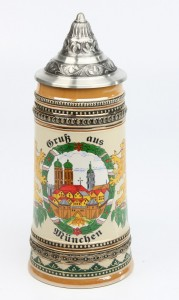 Gutsherren 0,5l, Gruß aus München, Spitzdeckel _2