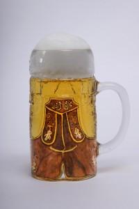 Lederhosen Glas