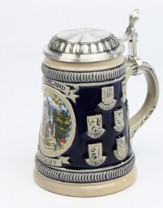 Old Germany u. Länder HF Schild kobalt, SB, Rollendeckel