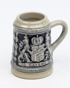 Bayernwappen HF kobalt mini