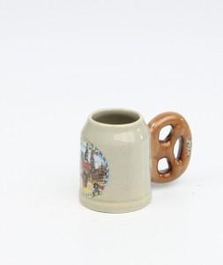 Brezelkrug Mini bunt, Souvenirbild