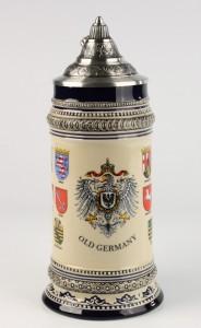 Gutsherren blau 1,0l, Old Germany & Länder, Spitzdeckel_2