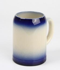 Kannenbäcker 0,5l, blau gesprüht