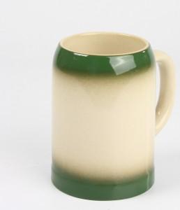 Kannenbäcker 0,5l, grün gesprüht