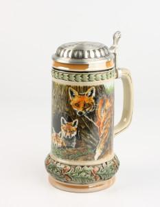 Tierreich Fuchs 0,5l, Wilddeckel Jagdhorn