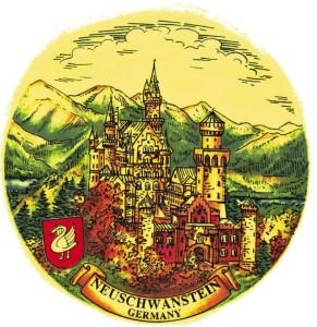 PA Neuschwanstein mit Schwan