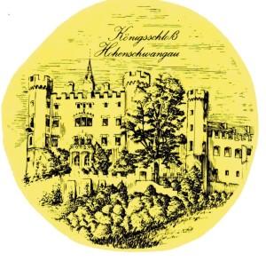 PA  Hohenschwangau  schwarz/weiß