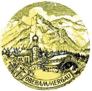 PA Oberammergau Stich s/w