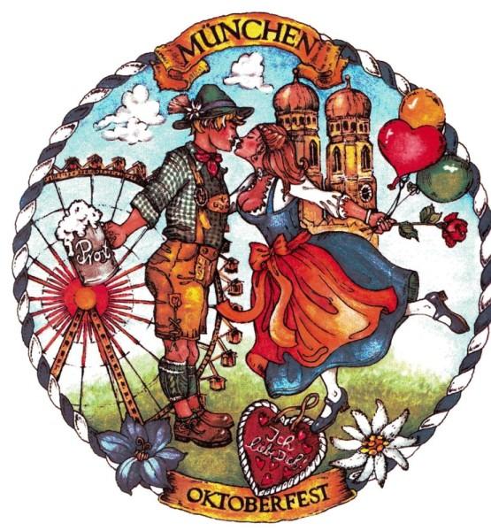 PA Kusspaar München-Oktoberfest