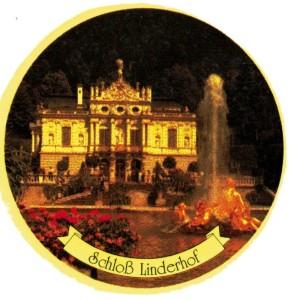 PA Linderhof 4-Farbsatz rund