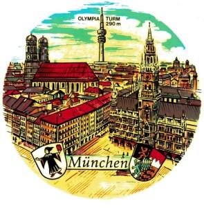 PA München mit Olympiaturm