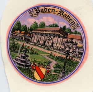 Baden Baden  Kordelrand