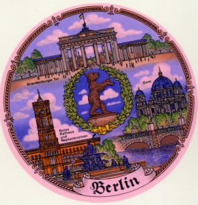 Berlin - Bär   Kordelrand