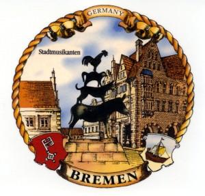 Bremen  Stadtmusikanten   Kordelrand