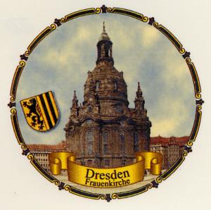 Dresden Frauenkirche  Kordelrand