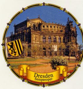 Dresden Semperoper Kordelrand