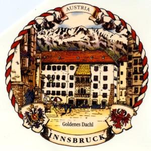 Innsbruck Goldenes Dachl Kordelr.