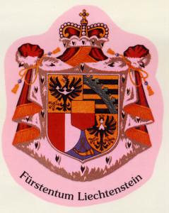 Liechtenstein  Wappen Fürstentum