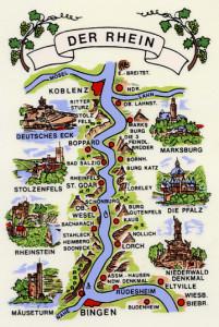Rheinlauf  eckig