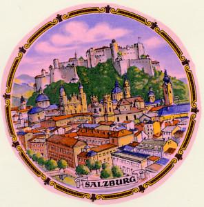 Salzburg Austria Kordelrand