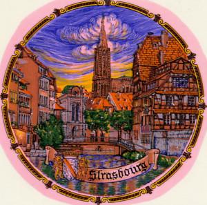 Strasbourg Frankreich