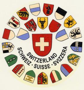 Schweiz Wappenkranz