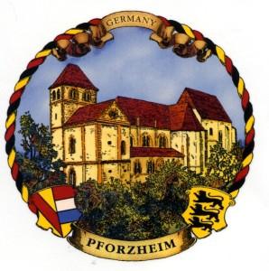 Pforzheim  Kordelrand